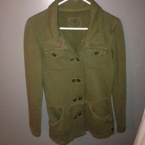 Prana Jackets & Blazers - Prana olive green military jacket