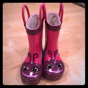 Western Chief Other - NEW!! Baby/Toddler girls rain boots, size 5