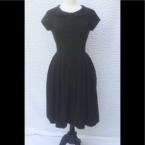 eshakti Dresses & Skirts - New Eshakti Black Retro Fit & Flare Dress S 6
