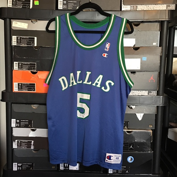 Champion Dallas Mavericks Jason Kidd Jersey 22c4d31fb