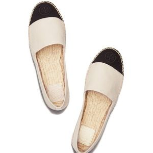 Tory Burch Shoes - Tory Burch Color-Block Flat Espadrilles