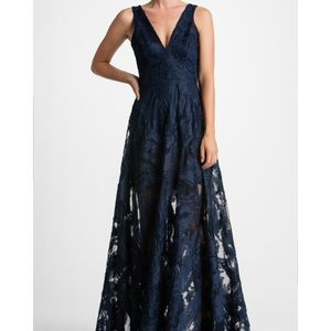 Dress the Population Dresses & Skirts - Gorgeous Lace Illusion Gown
