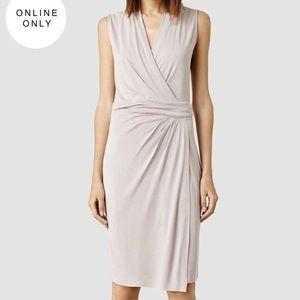 All Saints Dresses & Skirts - NWT [AllSaints] Ash Gray Novi Dress - US 2