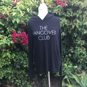 Wildfox Jackets & Blazers - WILDFOX The Hangover Club Hoodie size Large