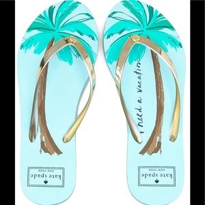 kate spade Shoes - NIB Kate Spade Flip Flops