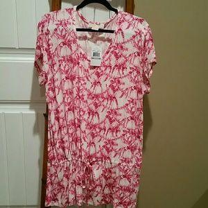 Michael Kors Tye Dye Pink Shirt