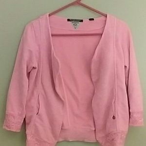 Maison Scotch Tops - NWT Neon Coral HeatherMaison Scotch Sweatshirt