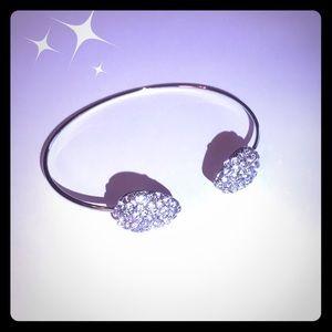 Jewelry - Crystal Pave Cuff Bracelet