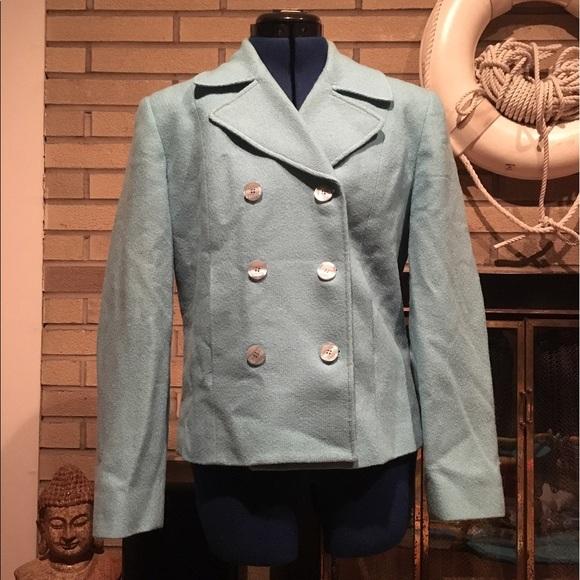 Vintage Robins Blue Jackie Kennedy Suit Suite
