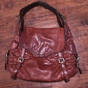 Kooba Handbags - Kooba brown leather shoulder bag
