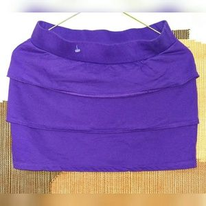 Be Bop Other - BE BOP Purple Layered Mini Skirt Size Small