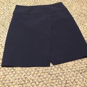 J. Crew office dressy skirt navy blue 4 NWNT