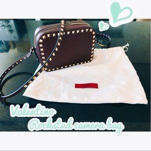 Valentino Handbags - Valentino studded camera cross body bag