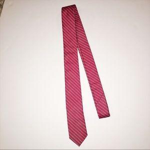 Skinny Tie Madness Other - Red striped tie