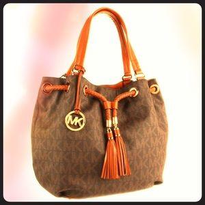 4315bbf791ad89 Buy michael kors laptop bag orange > OFF66% Discounted