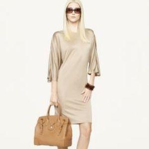 Ralph Lauren Black Label Dresses & Skirts - Ralph Lauren Black Label Gold Silk Sonia Dress