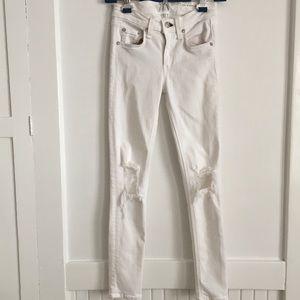 b69885be268 rag & bone Jeans | New List Rag Bone White Capri Sz 24 | Poshmark