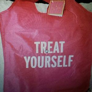Kate Spade  Handbags - Kate Spade NWT Pink Reusable Shopping Tote