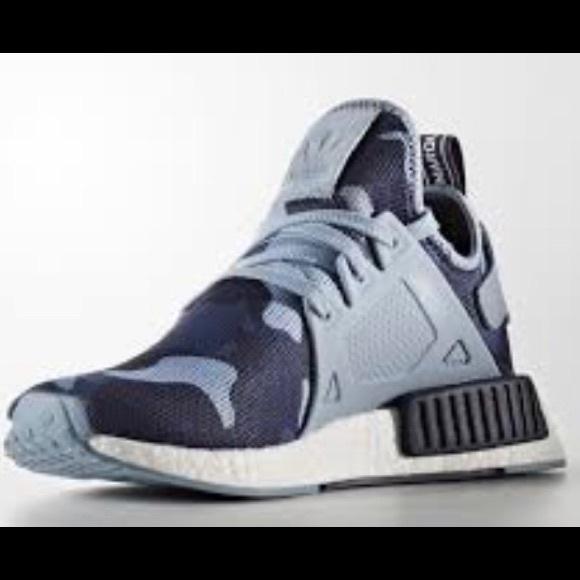 99e908cb9 New Rare Adidas nmd xr1 blue camo