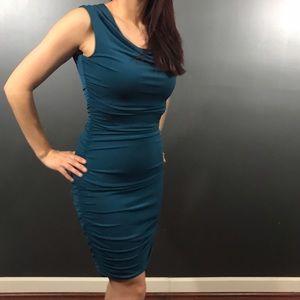 Dresses & Skirts - Enfocus Studios Ruched Dress Size 8