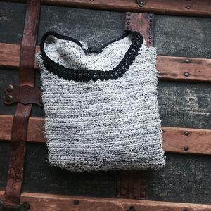 Zara Tops - Zara Tweed Too with Black Chain Detail