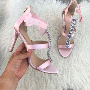 Badgley Mischka Shoes - BADGLEY MISCHKA JEWELED PUMPS Sz 9 new