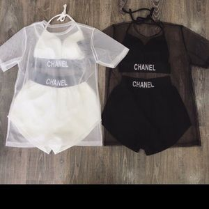 CHANEL Other - Chanel 2 pieces bathing suit