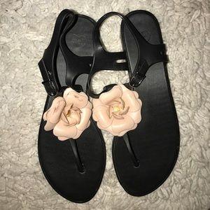 Melissa Shoes - Melissa® rubber flower 🌺 sandal women's US sz 8