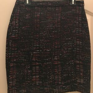 Loft Tweed Pencil Skirt