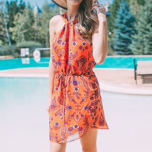Rory Beca Dresses & Skirts - Rory Beca Floral Paisley Summer Dress Open back