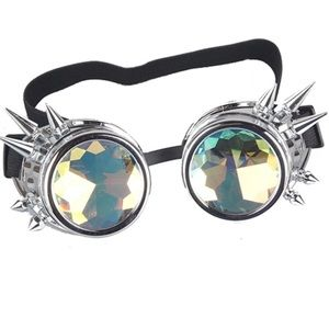 trippy spiked kaleidoscope goggles ⚡️⚡️⚡️NEW