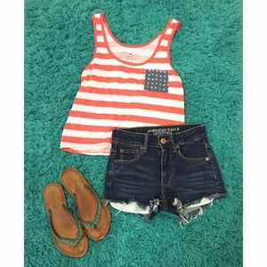 Fifth Sun Tops - 🔴Fourth of July Tank Top