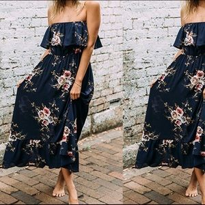 Dresses & Skirts - open should floral maxi