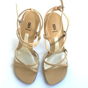 Bakers (Shelly) Nude Strappy heels