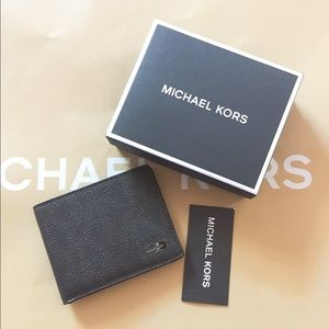 Michael Kors Other - NWT Auth Michael Kors mens billfold leather wallet