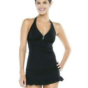 ASSETS by Sara Blakely Other - Black Skirted Swimsuit - SALE