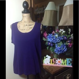 Chico's Tops - Chico's Purple Sleeveless Top