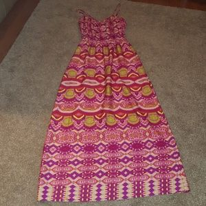 Like new! Collective concepts long maxi dress