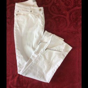 Chico's Pants - Chico's Platinum Denim Skinny Pants Size 0.5
