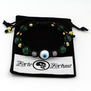 forte fortuna Other - malachite and stainless steel evil eye