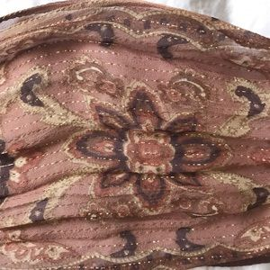 Accessories - vintage paisley scarf