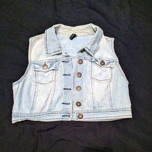 Highway Jeans Jackets & Blazers - Cropped denim vest