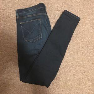 Hudson Jeans Denim - Hudson Dark Wash Skinny Jeans