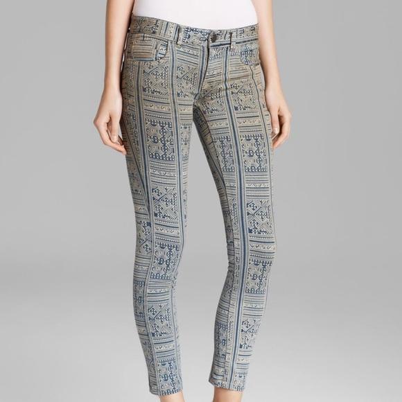 Free Batik Skinny Isla People Printed Jeans Y6yvbgf7