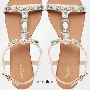 ASOS Shoes - ✨ Dune Embellished Jewel Sandals
