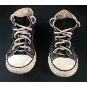 Converse Other - Boy's Black CONVERSE All-Star Hi Top Shoes