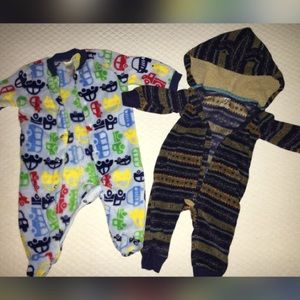 Baby Gear Other - Baby boy footie and one piece outfit