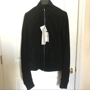 Rick Owens Other - Rick Owens Sphinx Intarsia Racer Leather Jacket