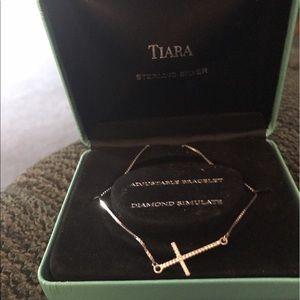 Tiara Accessories - Sterling silver braclet