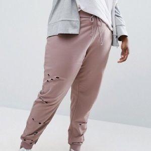 ASOS Curve Pants - ✅RSNBL OFFER✅ Trendy Distressed Joggers